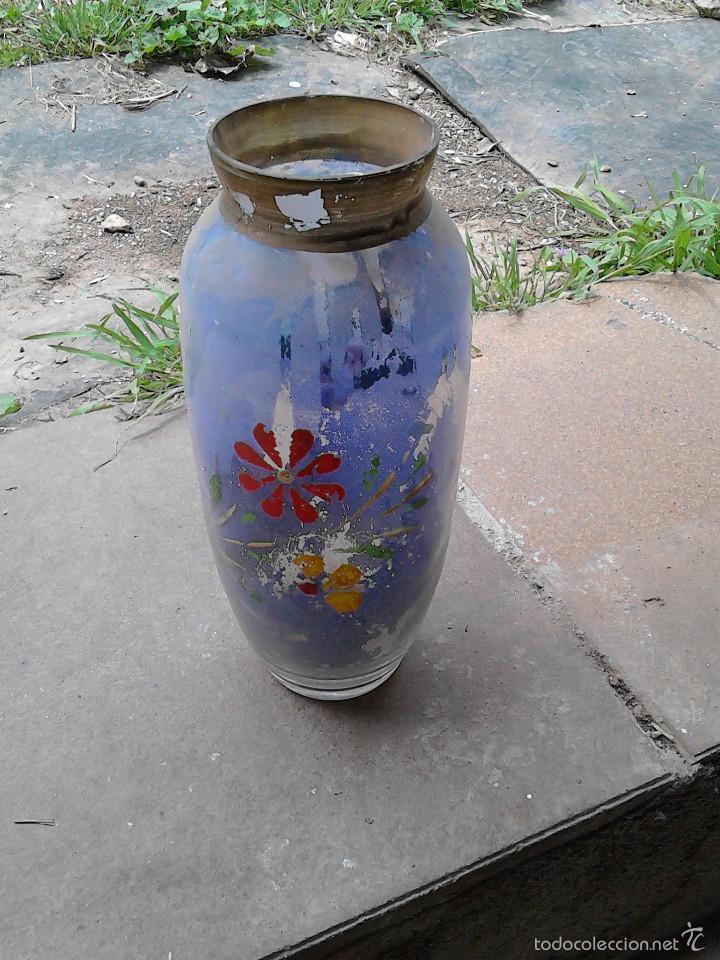 Vintage: jarron cristal colorido - Foto 2 - 56331719