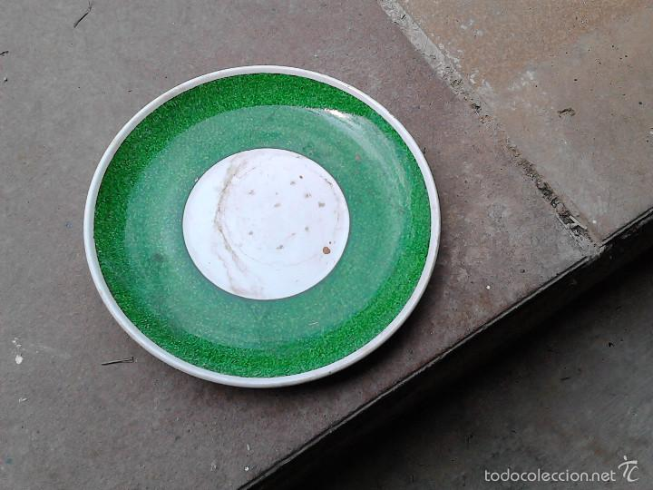 Vintage: plato ceramica oviedo - Foto 2 - 56331819