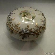 Vintage: JOYERO DE PORCELANA DE LIMOGE. Lote 56344423