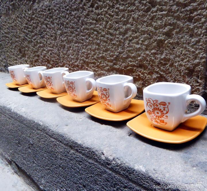 Vintage: Juego de café vintage, años 60/70 - Foto 2 - 56435712