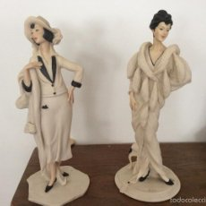 Vintage - Pareja de figuras del artista Vittorio Tessaro - 56461067
