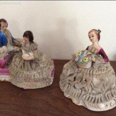 Vintage: FIGURA DE PORCELANA HECHAS EN JAPÓN. Lote 56461587