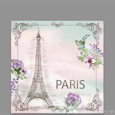 Vintage: AZULEJO 15X15 RECUERDO DE PARIS. Lote 56497951