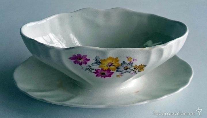 Vintage: Salsera porcelana San Claudio. - Foto 3 - 56665595
