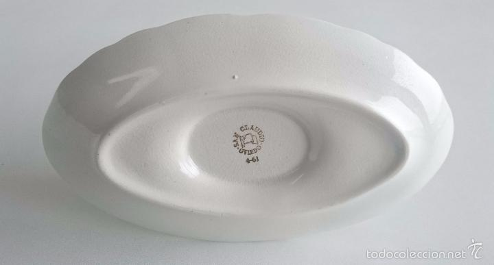 Vintage: Salsera porcelana San Claudio. - Foto 4 - 56665595