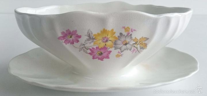 Vintage: Salsera porcelana San Claudio. - Foto 5 - 56665595