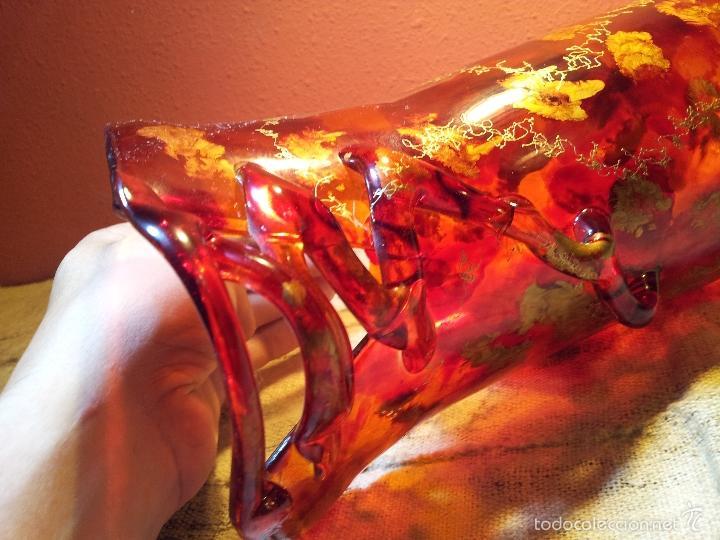 Vintage: precioso jarron cristal murano soplado pop-art años 60-70 - Foto 11 - 56712245