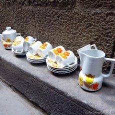 Vintage: SERVICIO DE CAFE FRANCÉS DE BERRY, 60S. Lote 56965599