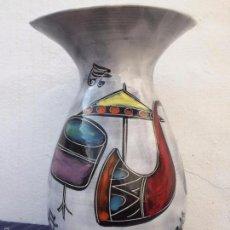 Vintage: JARRON EN CERAMICA ESMALTADA DE LOS AÑOS 60. Lote 56990439