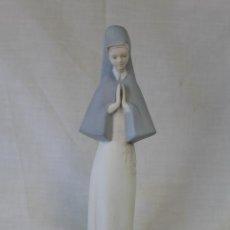 Vintage: FIGURA DE MONJA EN PORCELANA MIQUEL - REQUENA. Lote 57354424