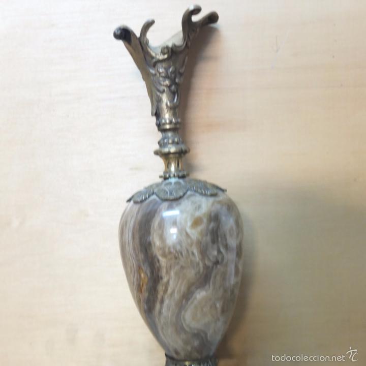 Vintage: jarron -marmol-bronce ? - Foto 4 - 57795772