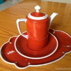 Vintage: CAFETERA TETERA PORCELANA ORIGINAL ANTIGUA VINTAGE. Lote 58097637
