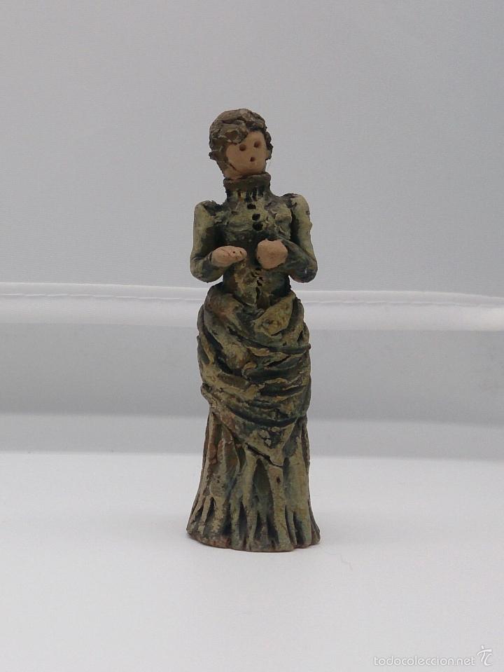 Vintage: Colección de miniaturas antiguas en terracota , hechas y pintadas a mano, años 60 . - Foto 2 - 58385877