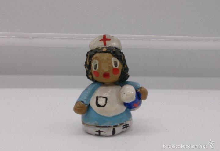 Vintage: Colección de miniaturas antiguas en terracota , hechas y pintadas a mano, años 60 . - Foto 5 - 58385877
