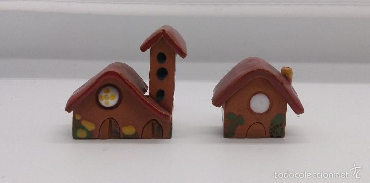 Vintage: Colección de miniaturas antiguas en terracota , hechas y pintadas a mano, años 60 . - Foto 9 - 58385877