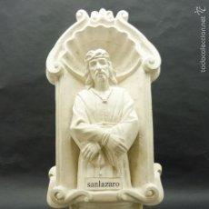 Vintage: FIGURA DECORATIVA DE ESCAYOLA JESUS ATADO DE MANOS 470 X 210 MM PESO + DE 8 KG. F208. Lote 59739936