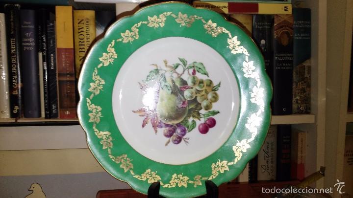Vintage: Conjunto de 2 platos bidasoa pintados - Foto 2 - 60933383