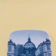 Vintage: PLATITO DE PORCELANA DANESA KGELD BONFILS MADE IN DENMARK. MARMORKIRKEN . MARCADO 9715/708. Lote 62785140