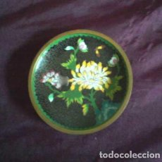 Vintage: PLATO DE CLOISONNÉ, FINAMENTE DECORADO. Lote 62880060