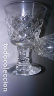 Vintage: Cristalería tallada - Foto 2 - 180948108