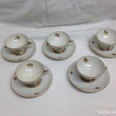 Vintage: 5 TAZAS BIDASOA AÑOS 50/60. Lote 65040151