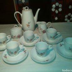 Vintage: JUEGO CAFÉ 6 SERVICIOS MARCA BASE. Lote 65737622