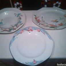Vintage: 3 PLATOS FUENTES PONTESA. Lote 65773993