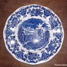 Vintage: PLATO DE PORCELANA ROYAL HOMES OF BRITAIN, MADE IN ENGLAND. Lote 66107102