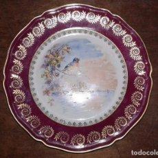 Vintage: PLATO DE PORCELANA, LIMOGES, FRANCE. Lote 66108214
