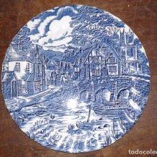 Vintage: PLATO DE PORCELANA, THE POST HOUSE, ENGLAND. Lote 66121702