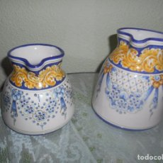 Vintage: JARRAS CERAMICA DE TALAVERA DE LA REINA AÑOS 80. Lote 66770750