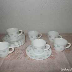 Vintage: 6 TAZAS DE CAFÉ HARMONIA. Lote 67368597