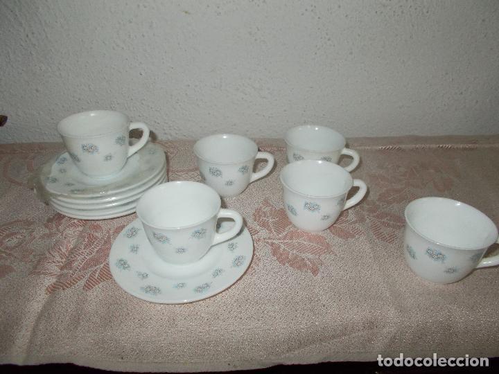 Vintage: 6 tazas de café Harmonia - Foto 3 - 67368597