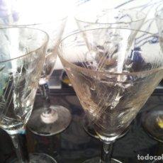Vintage: 6 COPAS TALLADAS . Lote 67944593
