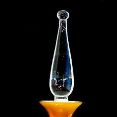 Vintage: MUY ANTIGUO FRASCO PERFUME DE CRISTAL. Lote 69078709