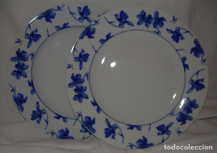 2 platos de postre de porcelana vista alegre p comprar - Vajillas vista alegre catalogo ...