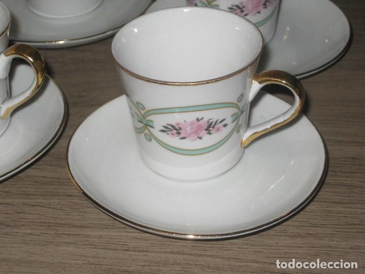 Vintage: Juego de café porcelana Sanbo - Foto 2 - 71615443