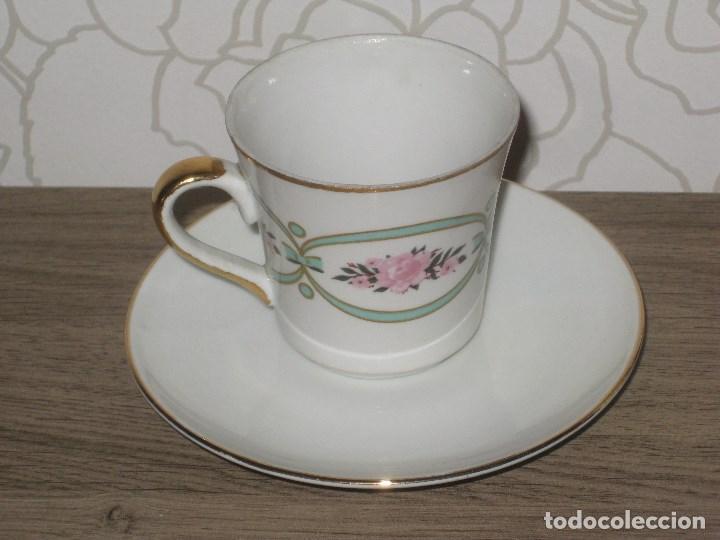 Vintage: Juego de café porcelana Sanbo - Foto 6 - 71615443
