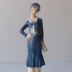 Vintage: THE COSMOPOLITAN 1935. SERIE HISTORIA DE LA MODA. PORCELANA GOEBEL. ALEMANIA 1970. Lote 71646959