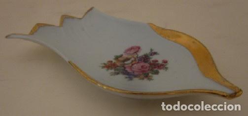 JABONERA - PORCELANA LIMOGES (Vintage - Decoración - Porcelanas y Cerámicas)