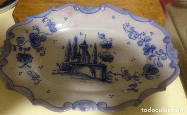 Vintage: Fuente decorativa colgar cerámica LUFECO- Valencia- Pintada a mano - Foto 2 - 72172583