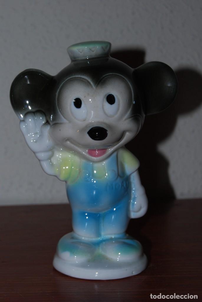 FIGURA DE PORCELANA WALT DISNEY - MORTY - SOBRINO DE MICKEY MOUSE - AÑOS 60-70 (Vintage - Decoración - Porcelanas y Cerámicas)