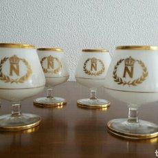 Vintage: 6 ORIGINALES COPAS BRANDY O COÑAC AÑOS 60. VINTAGE. Lote 73046718