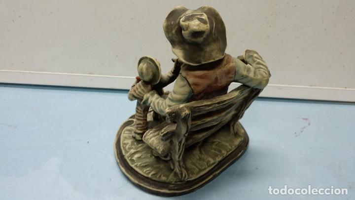 Vintage: figura de terracota - Foto 2 - 73353807