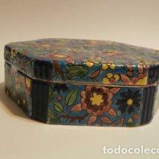Vintage: CAJA PORCELANA FRANCESA LONGWY ?. Lote 74366523