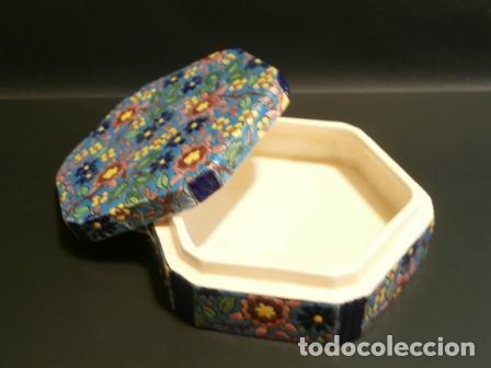Vintage: Caja porcelana Francesa LONGWY ? - Foto 2 - 74366523