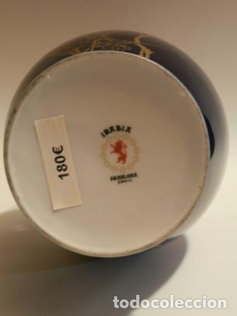 Vintage: Tibor en porcelana IRABIA ( Pamplona ) - Foto 2 - 74655215