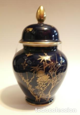 Vintage: Tibor en porcelana IRABIA ( Pamplona ) - Foto 3 - 74655215