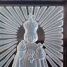Vintage: NIÑO JESÚS DE PRAGA TALLADO EN CRISTAL DE BOHEMIA. Lote 75200787