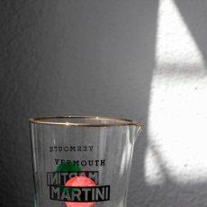 Vintage: VASO MEZCLADOR DE MARTINI. FILO EN ORO. AÑOS 60/70. Lote 75427187